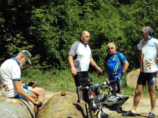 Reconnaissance rives du Doubs 2011